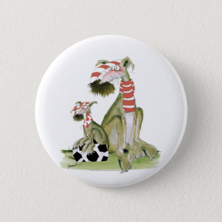 soccer reds, like father like son 6 cm round badge