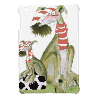 soccer reds, like father like son iPad mini cases
