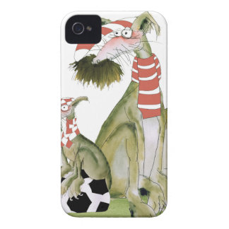 soccer reds, like father like son iPhone 4 Case-Mate cases