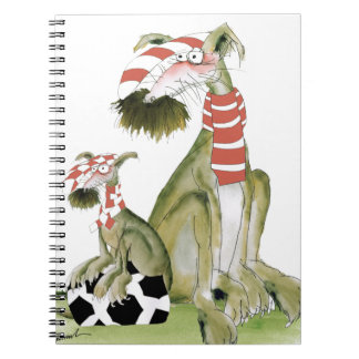 soccer reds, like father like son notebook