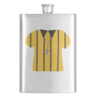 Soccer Ref 8 oz. Flask