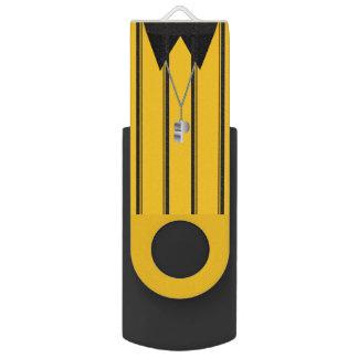Soccer Ref Flash Drive Swivel USB 2.0 Flash Drive