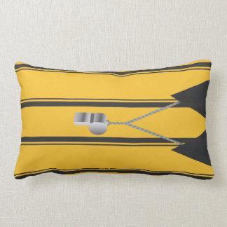 Soccer Ref Lumbar Pillow Cushion