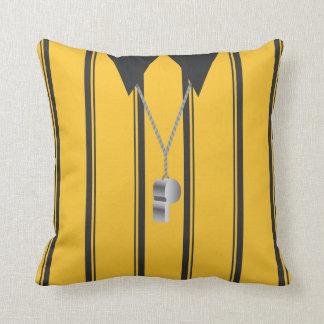 Soccer Ref Throw Pillow Throw Cushion