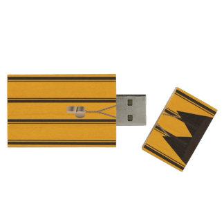Soccer Ref USB Flash Drive Wood USB 2.0 Flash Drive