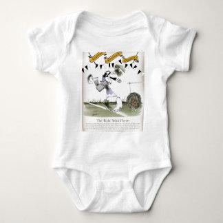 soccer right winger black + white kit baby bodysuit