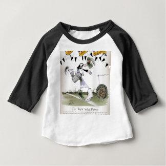 soccer right winger black + white kit baby T-Shirt