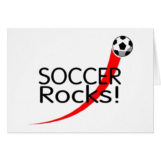 Soccer Rocks Card