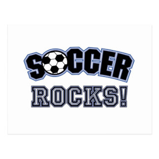 Soccer Rocks T shirts and Gifts Postcard