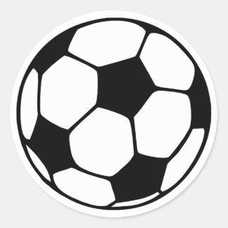 Soccer Round Stickers