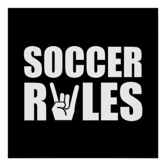 Soccer Rules Poster