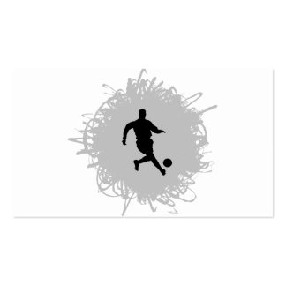 Soccer Scribble Style Pack Of Standard Business Cards