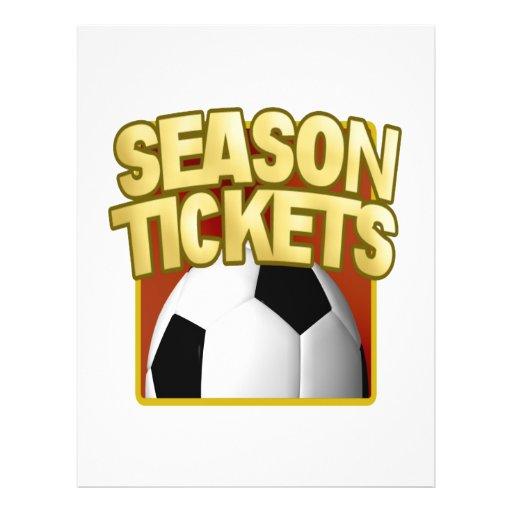 Soccer Season Tickets Flyer Design