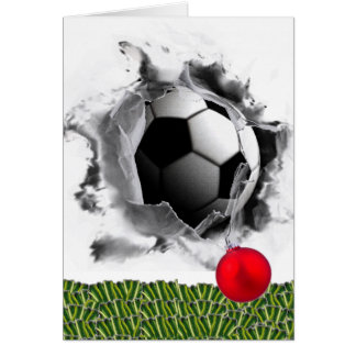 Soccer Season's Greeting Card