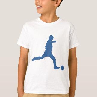 Soccer Silhouette Kids Tshirt