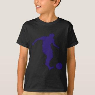 Soccer Silhouette Tee Shirts