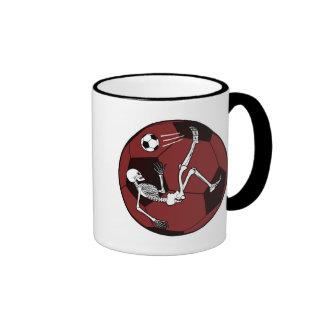 Soccer Skeleton Coffee Mugs