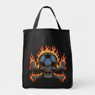 Soccer Skull III Tote Bag