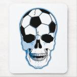 Soccer Skull Mouse Pad