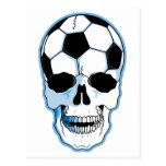 Soccer Skull Postcard