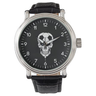 Soccer Skull Watch
