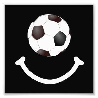 Soccer Smile Photo Art