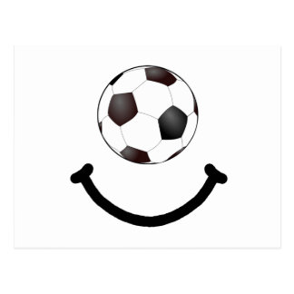 Soccer Smile Postcard