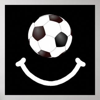 Soccer Smile Poster