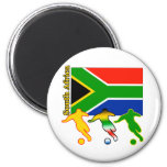 Soccer South Africa Refrigerator Magnets