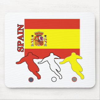 Soccer Spain Mouse Pads