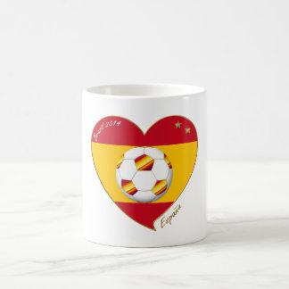 """SOCCER """"SPAIN"""" Spain Spanish Football Soccer Team Mugs"""
