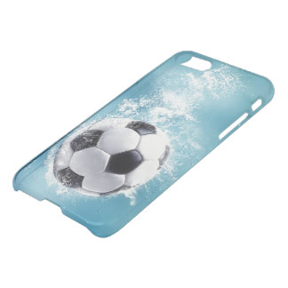 Soccer Splash iPhone 7 Clearly™ Deflector Case