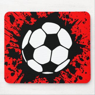 soccer splat mouse mat