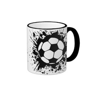 soccer splat mug