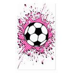 soccer splatz business card templates