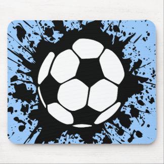 soccer splatz mouse mat