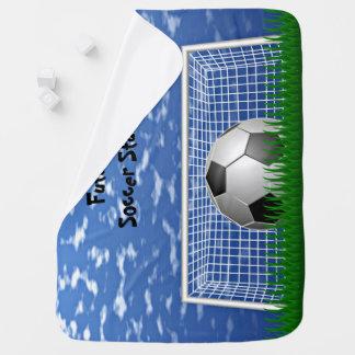 Soccer Star Baby Blanket