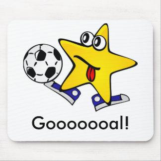 Soccer Star Gooooooal! Mouse Pad