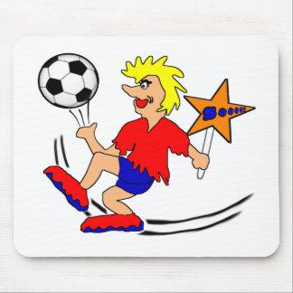 Soccer Star Mouse Pad
