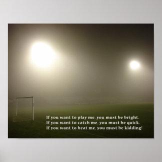 Soccer Star Poster