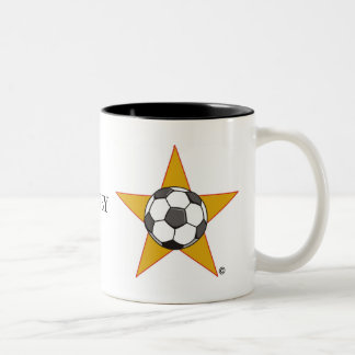 Soccer Star Two-Tone Mug