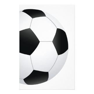 soccer stationery