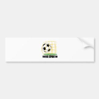 Soccer Superstar Bumper Stickers