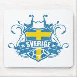 soccer SWEDEN Mousepads