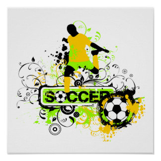 Soccer T shirts and Gifts Poster