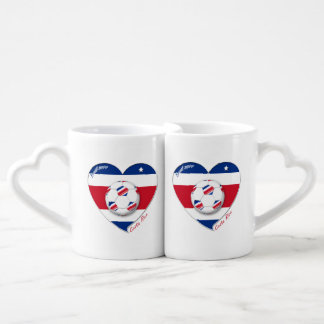 "Soccer Team ""Costa Rica"" national SOCCER TICO Lovers Mugs"