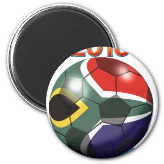 Soccer Team Gear 6 Cm Round Magnet