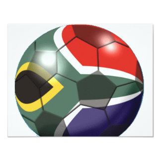 Soccer Team Gear Custom Invitation