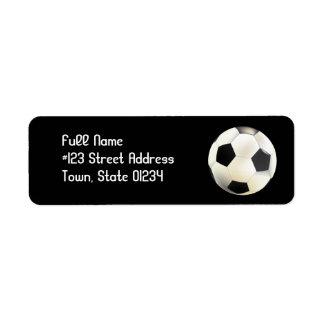 Soccer Team Mailing Labels
