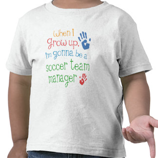 Soccer Team Manager (Future) Infant Baby T-Shirt